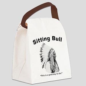 Sitting Bull: Die Canvas Lunch Bag