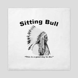 Sitting Bull: Die Queen Duvet