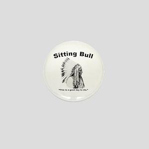 Sitting Bull: Die Mini Button