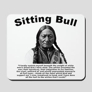 Sitting Bull: Tomahawk Mousepad