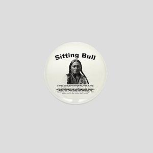 Sitting Bull: Tomahawk Mini Button