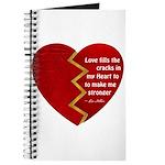 Love fills the cracks... Journal