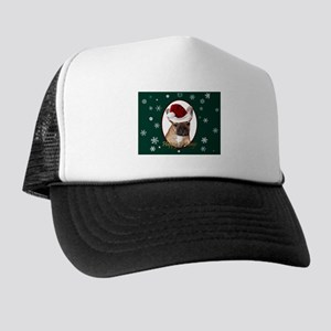 Christmas French Bulldog Trucker Hat