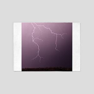 Lightning Hunting 5'x7'Area Rug