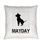 Mayday Logo Everyday Pillow