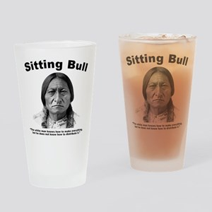Sitting Bull: Share Drinking Glass