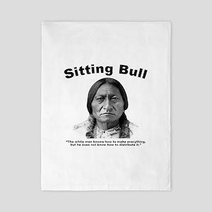 Sitting Bull: Share Twin Duvet