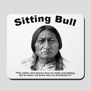 Sitting Bull: Share Mousepad