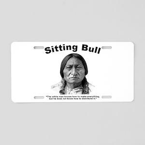 Sitting Bull: Share Aluminum License Plate