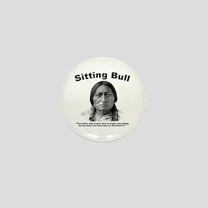 Sitting Bull: Share Mini Button