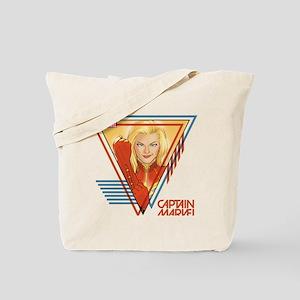 Captain Marvel Triangle Tote Bag