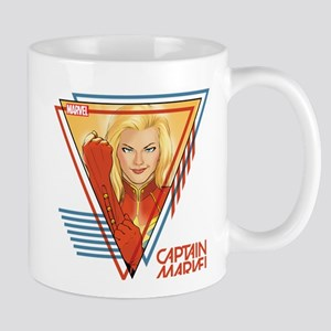 Captain Marvel Triangle Mug