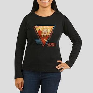 Captain Marvel Tr Women's Long Sleeve Dark T-Shirt