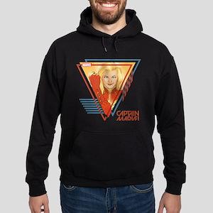 Captain Marvel Triangle Hoodie (dark)