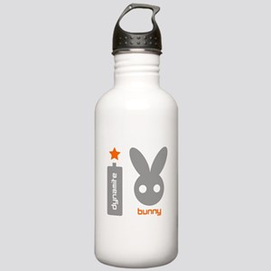 Dynamite Bunny Light Logo Water Bottle