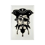 Pirate Rectangle Magnet (10 pack)