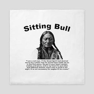 Sitting Bull: Redman Queen Duvet