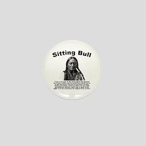 Sitting Bull: Redman Mini Button