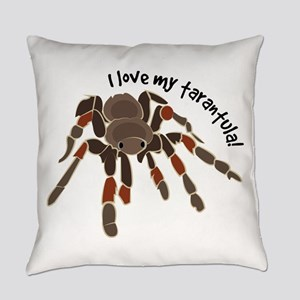 Love My Tarantula Everyday Pillow