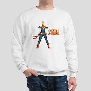 Captain Marvel Standing Sweatshirt