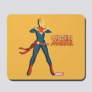 Captain Marvel Standing Mousepad