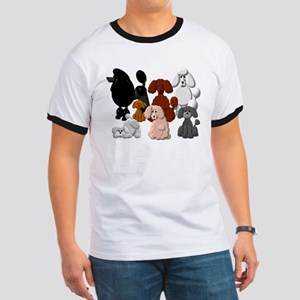 TINY POODLE PACK COLLAGE T-Shirt