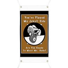 Jekyll Hyde 8 Ball Billiards Banner