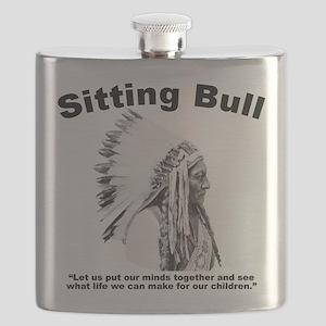 Sitting Bull: Peace Flask