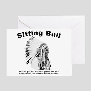 Sitting Bull: Peace Greeting Card