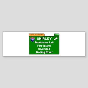 496 - LONG ISLAND EXPRESSWAY - FIRE Bumper Sticker