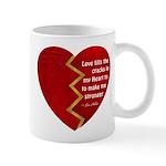 Love fills the cracks... Mugs