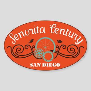 Senorita Century Sticker