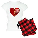 Love fills the cracks... Pajamas