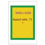 Rectangle Magnet Image 3 Large Poster