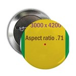 "Rectangle Magnet Image 3 2.25"" Button (100 pack)"