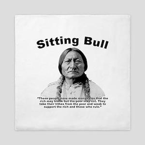 Sitting Bull: Oligarchy Queen Duvet