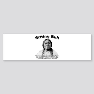 Sitting Bull: Oligarchy Sticker (Bumper)