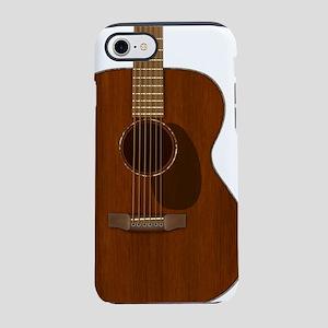 Acoustic Guitar Art iPhone 8/7 Tough Case