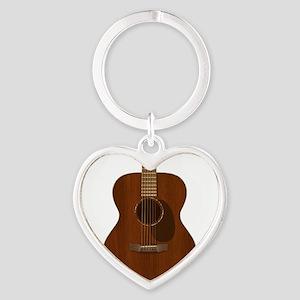 Acoustic Guitar Art Keychains