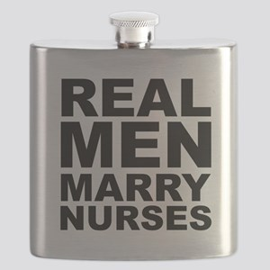 Real Men Marry Nurses Flask