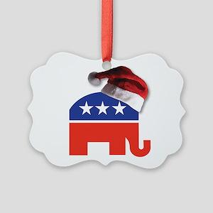 Christmas Republican Ornament