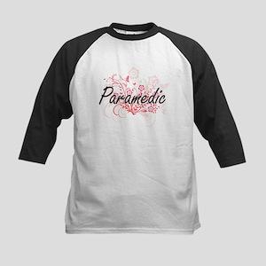 Paramedic Artistic Job Design with Baseball Jersey