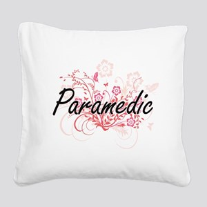 Paramedic Artistic Job Design Square Canvas Pillow