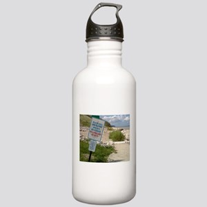 A scenic beach in Ozau Stainless Water Bottle 1.0L