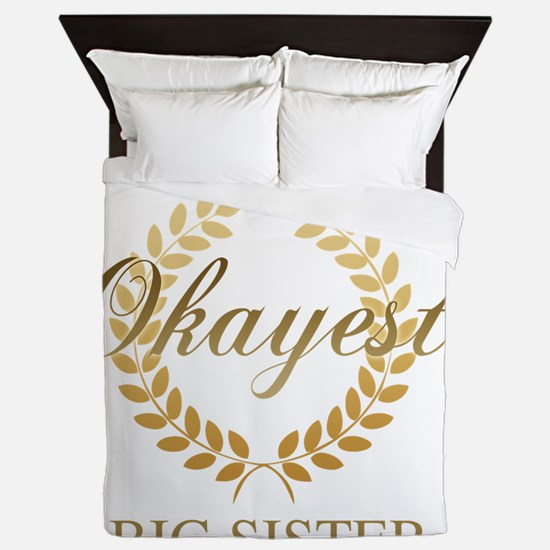 Unique Okayest Queen Duvet