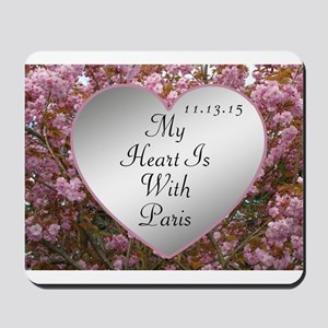 My Heart Is With Paris Mousepad