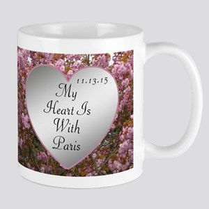 My Heart Is With Paris Mug