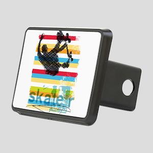 Skateboarder Ink Sketch Ju Rectangular Hitch Cover
