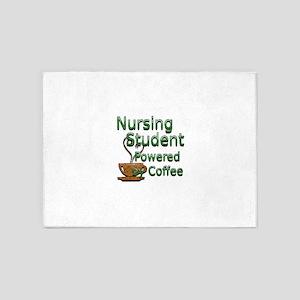 coffee nursing student 5'x7'Area Rug