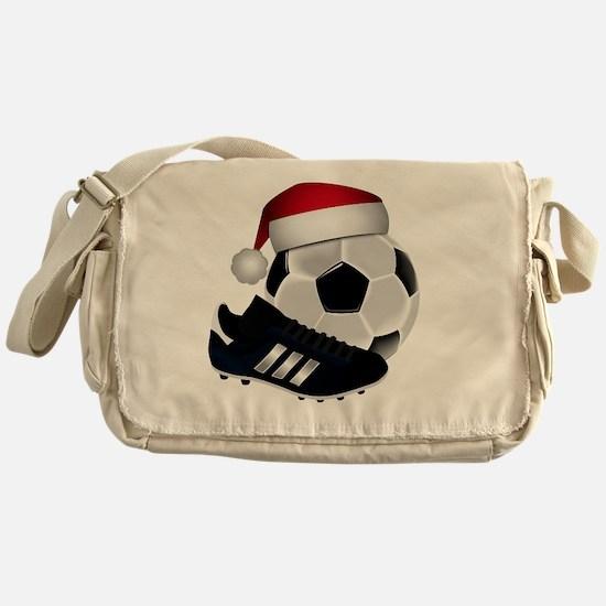 Funny Soccer Messenger Bag